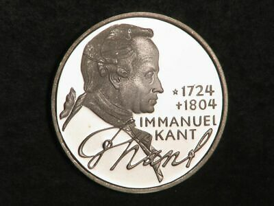 GERMANY 1974D 5 Mark Kant Silver Choice Proof
