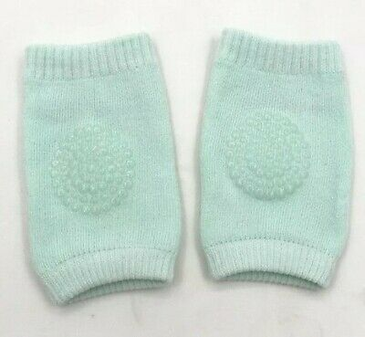 GREEN Kids Safety Crawling Elbow Cushion Infant Toddler Baby Knee Pads UK SELLER