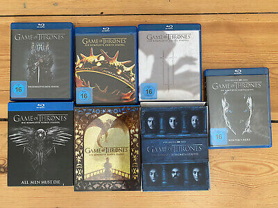 game of thrones staffel 1-7 blu ray