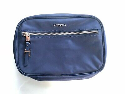 Tumi Voyageur Yima Cosmetic / Toiletry Case - Midnight, Gently Used