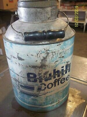 Bluhill Coffee Vintage Can