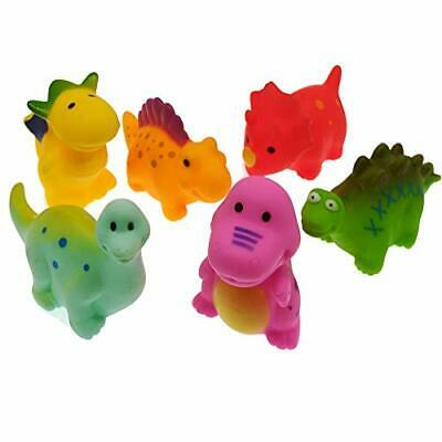 Floating Squirts Rubber Toy Dinosaur Water Squirt Fun Game Toys in Bathtub