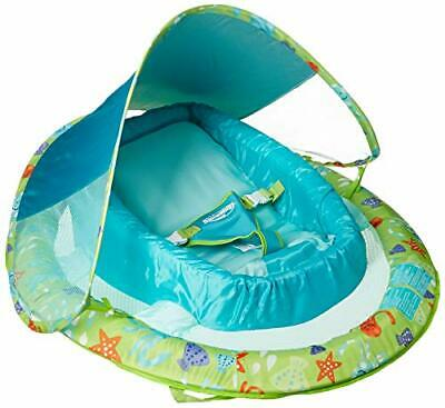 SwimWays Infant Baby Spring Float (Green Octopus)