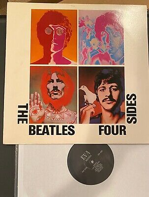 The Beatles RARE Vinyl Boot Four Sides - 2 LPs