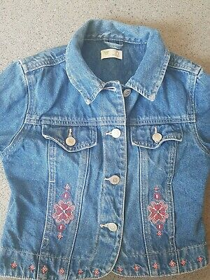 Girls Denim Jacket From Adams Age 6 Years 116cm