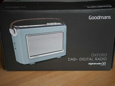 Radio GOODMANS Oxford 1960s style DAB+ DIGITAL RADIO