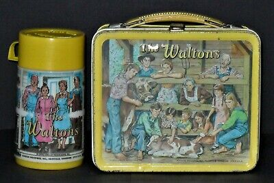 1973 Waltons Lunchbox With Thermos