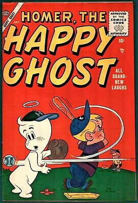 Homer, The Happy Ghost #3 Golden Age Atlas 8.0