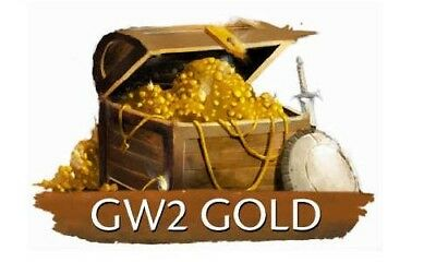 Guild Wars 2 500 Gold | 100% privat auf deutscher IP