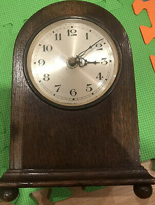 Old Antique Grandfather Clock Wooden