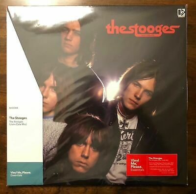 The Stooges (John Cale Mix) Red Marbled Colored LP Record Vinyl Me Please