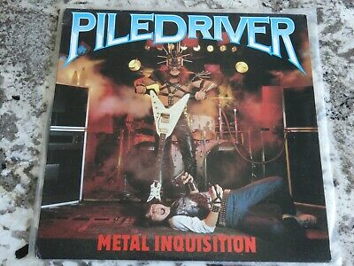 PILEDRIVER - 2 LP lot. Metal Inquisition Stay Ugly