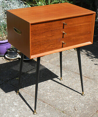 VINTAGE 1950s/1960s EMPTY TABLE CANTEEN CUTLERY FLATWARE CHEST OF DRAWERS