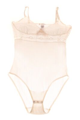 RRP €110 HANRO Body Size XS Lace Trim Non Padded Sleeveless Made in Portugal