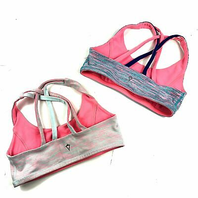 Ivivva by Lululemon Vitality Reversible Sports Bra Set Size 12