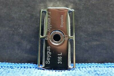 Seygus Zeppelin Safety Razor ,ONLY BASEPLATE, Curved with dual gap head Rasierer
