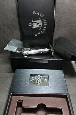 Raw Shaving RS 10 Safety Razor one of the first, very rare , Stainless Steel