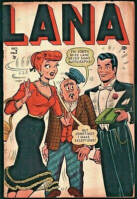 Lana #2 Golden Age Timely 3.5