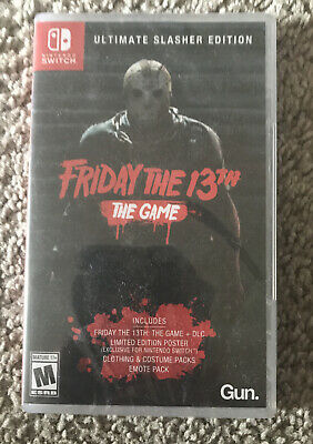 Friday The 13th: Game Ultimate Slasher Edition Nintendo Switch 2019