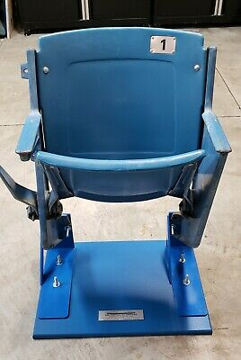 #1 Fully Functional Pontiac Silverdome Seat - Man Cave! Own a piece of history!
