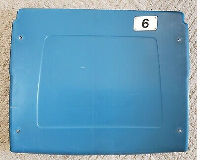 #6 Pontiac Silverdome Seatback - OWN A PIECE OF HISTORY!! - A MAN CAVE MUST!