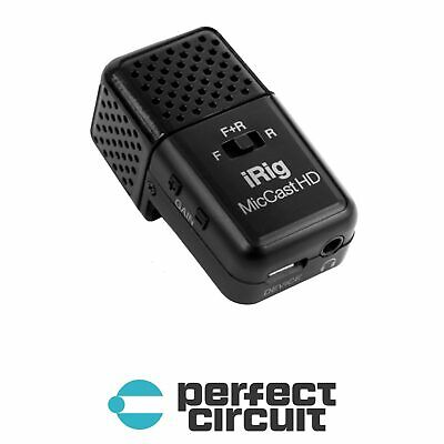 IK Multimedia iRig Mic Cast HD MOBILE RECORDING - NEW - PERFECT CIRCUIT