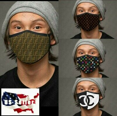 Luxury Face Mask Protect Mouth &Nose USA Made Reusable Cotton Blend Layer Unisex