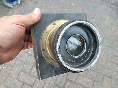 Vintage Ross Zeiss Convertible Anastigmat Brass Camera Lens - As Found