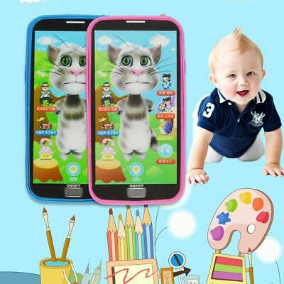 Child Simulator Music Toy Cell Phone Touch Screen Learning Educational Kids Gift