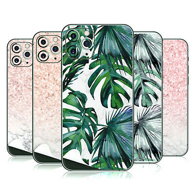 NATURE MAGICK MARBLE WHITE GLOSSY VINYL STICKER SKIN FOR iPHONE SAMSUNG PHONES