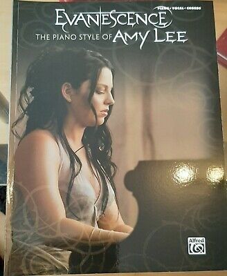 evanescence the piano style of amy lee klaviernoten