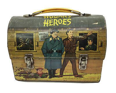 Hogan's Heroes 1966 Vintage Lunchbox, No Thermos Aladdin Industries