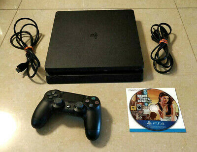 Sony Playstation 4 500GB Slim with GTA V