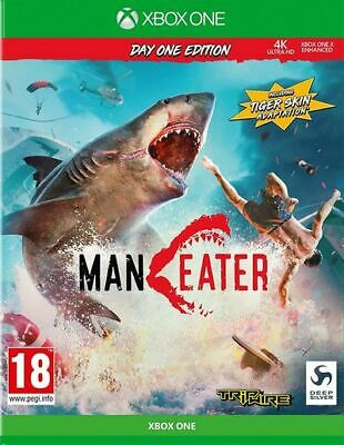 Maneater - Day One Edition (Xbox One) VideoGames Expertly Refurbished Product