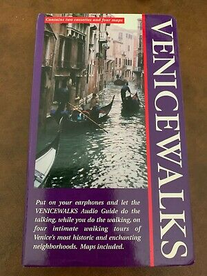 Venice Walks Contains two cassettes and four maps