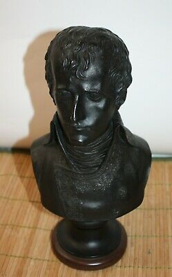 """Napolean French Empire Bust Figure Statue 6"""" x 4"""" x 11"""""""