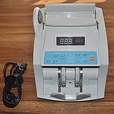 Perfect Count Pc 6500 Professional Bill Currency Counter (2008) - Still Works!