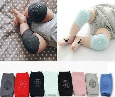 Kids Safety Crawling Elbow Cushion Infants Toddler Baby Knee Pads UK SELLER