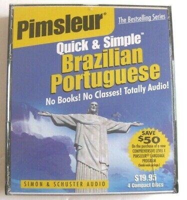 Quick and Simple: Brazilian Portuguese by Pimsleur Staff (2000, CD)