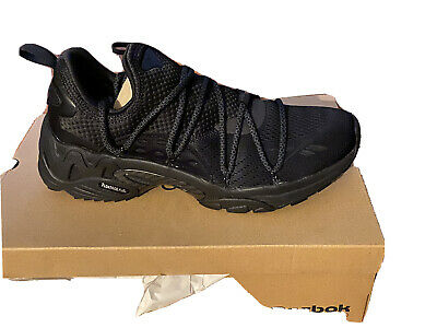 Reebok Trideca 200 EG2619 Mens Black Canvas Athletic Lace Up Running Shoes
