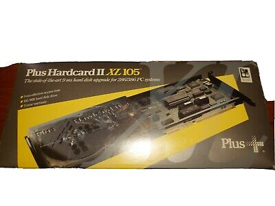 Plus Hardcard 2 XL 105 Brand New Super Rare for Computer