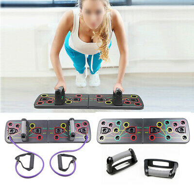 9 in 1 Board Set Konstruktion Fitness Bewegung Push-up Ständer Push Up