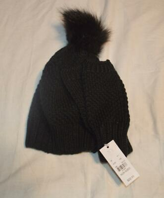 New York & Company Women's Finger-Less Gloves w/ Hat BF5 Black One Size