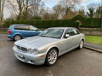 Jaguar XJ Sovereign Diesel 2007 FSH, MOT, Leather, Silver, Automatic, TDVI, Nav