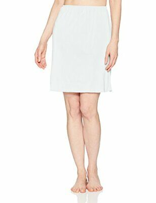 Jones NY Women's Silky Touch 19 Anti-Cling Above Knee Half, White, Size Small