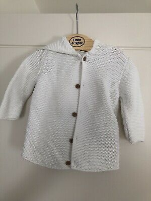 Next Baby Knitted Hooded Cardigan - Age 6-9 Months