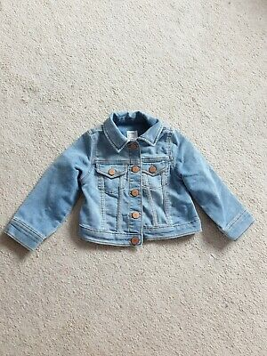 girls gap denim jacket Age 2 Years