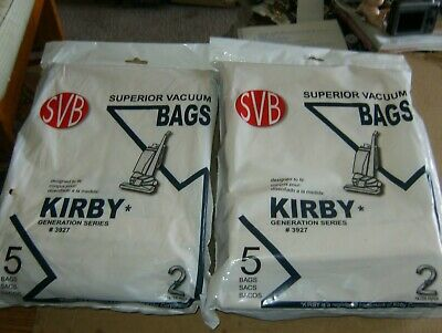 SVB (10) Kirby Upright G3 to G6 Vacuum Bags New.