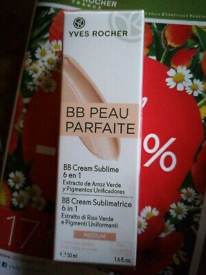 BB Cream Sublimatrice Medium yves rocher vegan vegetale ipoallergenico NUOVO