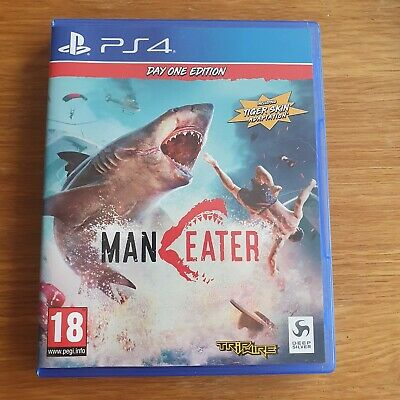 Man Eater Ps4 day one edition code unused